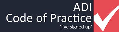 ADI Code of Practice logo