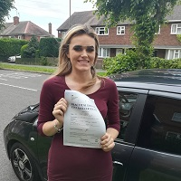 I took my driving lessons with Findley's Driving School of Nuneaton and passed my driving test.